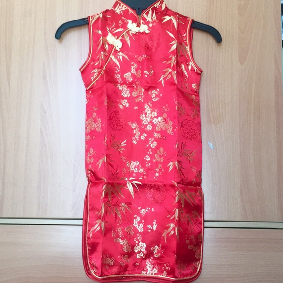 c884273ae058 Dresses | Little Girl Hot Red Chinese Dress | Poshmark